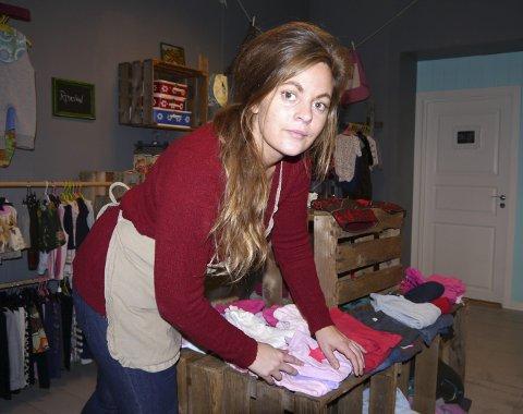 Camilla Bilstad Johannessen er daglig leder på Cafe Vintage.