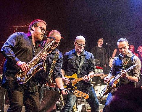HELT SJEF: Tributebandet Backstreets har fått det ærefulle oppdraget med å åpne Glengfestivalen 2017. Sarpsborg-bandet vil gi de besøkende en kveld med ukjente, kjente og kjære Bruce Springsteen låter.