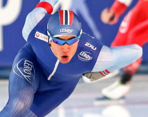 Firer i nm: Jørgen Sæves måtte nøye seg med tre fjerdeplasser på de tre første løpene i sprint-NM. På den avsluttende 1.000-meteren kom han seg endelig opp på pallen med en tredjeplass. Men han ble med det likevel fjerdemann i norgesmesterskapet. arkivFOTO: PRIVAT