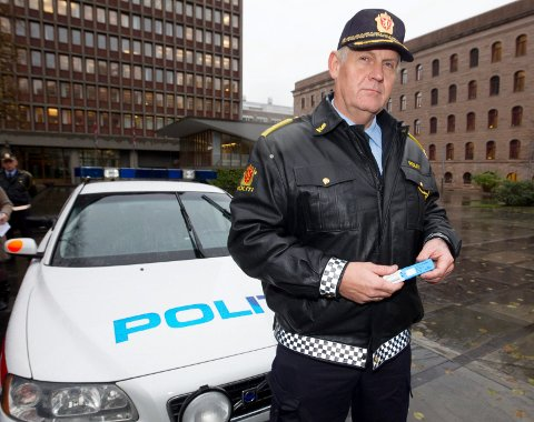 SKREMMENDE: - Alle som stoppes av oss må blås, vi kan også ta drugtest., sier UP-sjef Runar Karlsen. (Foto: Morten Holm/ NTB Scanpix)   FOTO: Holm, Morten / Scanpix