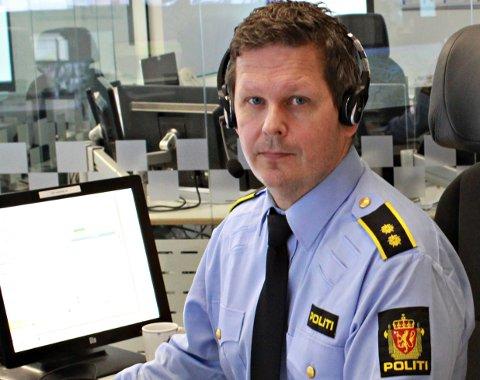 Operasjonsleder Per Åge Ferstad i Møre og Romsdal politidistrikt forteller om svært mange oppdrag knyttet til feststøy natt til søndag.