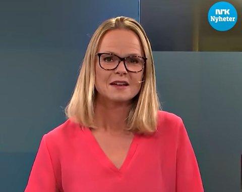 Synnøve Hole kommer til å huske sendingen på NRK Møre og Romsdal tirsdag kveld. – Jeg ble litt perpleks, for man vil ikke stå og flire på direktesendt tv, sier hun til Tidens Krav.