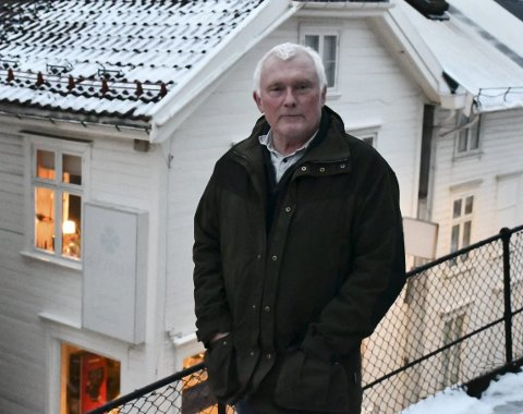 Steinar Thorsen: Er en av tre fra Sandøya på den nye lista. Han har tidligere sittet i kommunestyret for SV. Nå har han alliert seg med politikere med bakgrunn fra Høyre, Sp, Ap og MDG. Foto: Olav Loftesnes