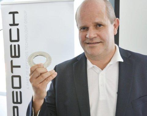 Glede: Nils Christian Mathisen har dratt i land den største kontrakten noensinne for Pipeotech AS.Arkivfoto