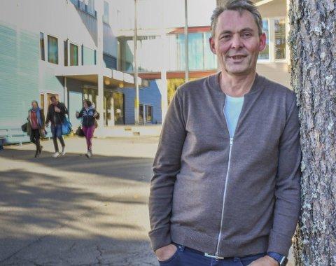 Oddvar Haslemo er rektor på Lyngmyr ungdomsskole. Arkivfoto