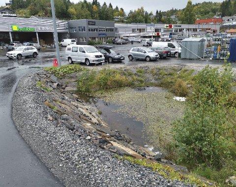 Nå er denne dammen på Bergsmyr blitt sjekket av fagfolk. Arkivfoto