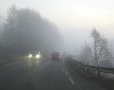 Gråskodde: Slik, eller endå verre, opplevde dei fleste i Valdres heile fyrste halvdelen av november.