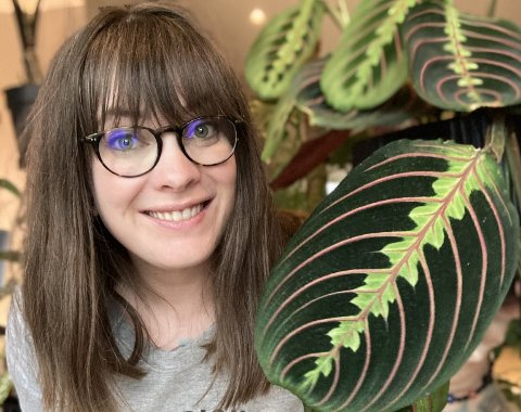 STARTET FORETAK: Trine Ukkestad forteller at hun ønsket å bruke fritid på lidenskapen og hjelpe bedrifter med digital markedsføring.