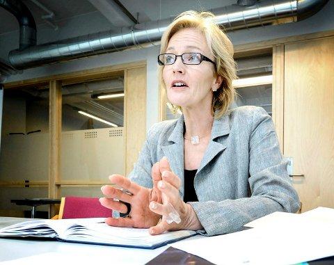 NY JOBB: Tone Ulltveit-Moe får ansvar for arena, kultur, idrett og friluftsliv i den nye storkommunen.