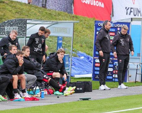 Det ble ingen lystig onsdagskveld for FFK-delegasjonen i Stjørdal i en kamp hvor Håvard Åsheim ble utvist.