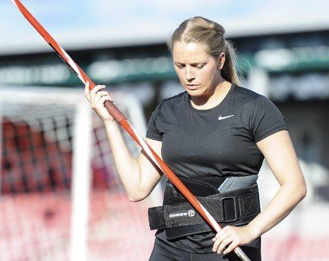 SKADET: Emilie Ingerø er operert for en albueskade, og må gjennom en opptreningsperiode før oppkjøringen mot 2019-sesongen kan starte for fullt.