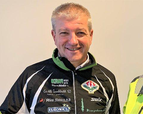 PRESISERER: TFLs leder Trond Sydskogen forstår ikke helt kritikken fra Hans Lie. - Vi har en forankret satsing på rekruttering og har mange dyktige trenere i klubben.