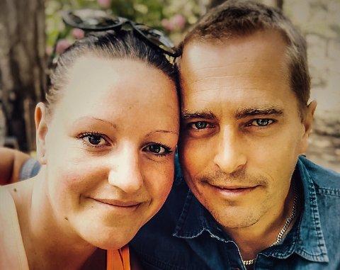 VENTER: Therese Eriksen og Thomas Aronsen har utsatt bryllupet på ubestemt tid.