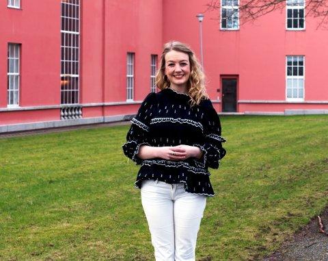 KANDIDAT: Haugesund Arbeiderparti vil ha Silje Hellesen (39) inn på Stortinget.