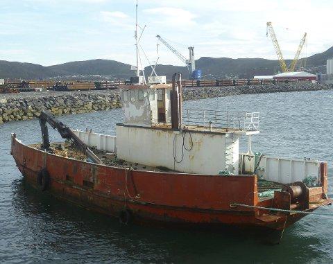 Ferga Domen: Domen ble i fjor Høst hogget opp av Hammerfest Havn KF.