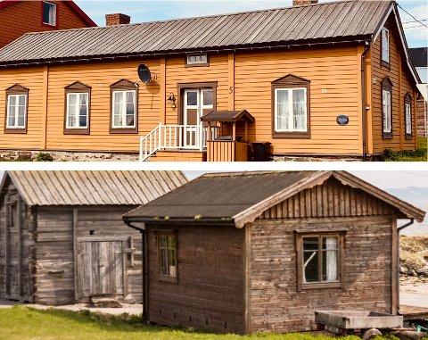 HISTORIE: I byggene i Ytrebyen i Vadsø ligger det mye historie.