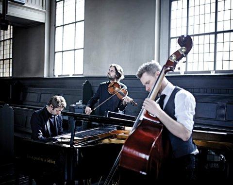 KOMMER: Gjermund Larsen Trio spiller på Smeltehytta lørdag 25. januar.