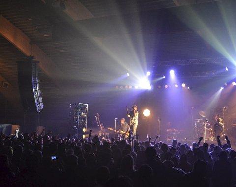 Tilbake: DumDum Boys kommer tilbake til Lofoten, her fra sist konsert på Leknes i 2015.