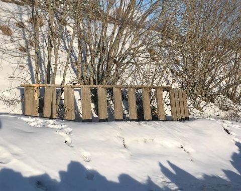 Tiåringen traff denne trappen.
