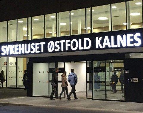 Blodrøde tall: Sykehuset Østfold gikk 433 millioner kroner i minus i 2016.