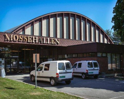 ÅPNER IGJEN: De kommunale idrettshallene i Moss åpner igjen fra mandag 11. mai.