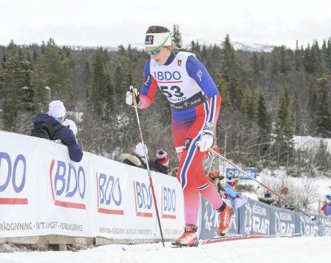 11. plass: Barbro Kvåle endte på 11. plass i sesongåpningen på Beitostølen.