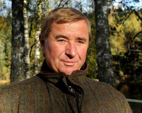 SLIPPER TIL: Finanskjendis Christen Sveaas har fått konsesjon på to skogteiger i Nordre Land.