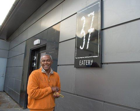"""SMILEFJES: """"37 Eatery"""" på Gjøvik er en av spisestedene som har fått et smilefjes av Mattilsynet på nyåret."""