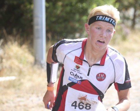 MEGET STERKT: Jørgen Schjølberg var igjen av landets beste på Hovedløpet med niendeplass.