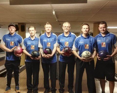 Rana bowlingklubb presterer meget godt i 1. divisjon, etter opprykk i vår.