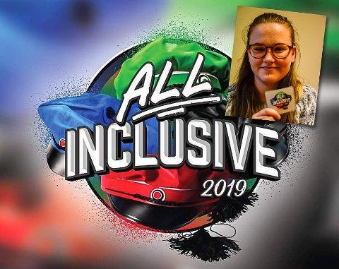 """Zandra Karola Hilstad har startet russegruppa """"All inclusive"""", der alle er velkomne til å være med."""