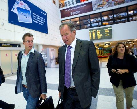 Norwegian-sjef Bjørn Kjos, fra en reportasje Ringerikes Blad gjorde for flere år siden. Kjos kommer opprinnelig fra Sokna.