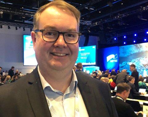 FETSUND: Ny glommakryssing må på plass så raskt som overhodet mulig, mener Lillestrøm Høyres Kjartan Berland som minnet landsmøtet om at flertallsregjeringen må vise gjennomføringskraft.