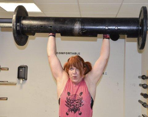 USA NESTE: Kommende uke skal Ann Kristin «Kikki» Berli-Johnsen (49) kjempe om å bli verdens sterkeste kvinne.