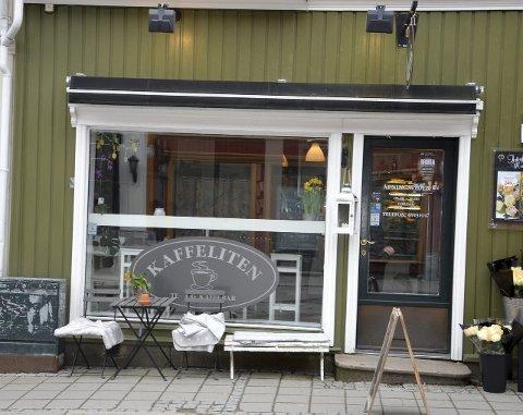 KONKURS: Det er åpnet konkurs i Kaffelitengruppen AS, som drev kaffebaren Kaffeliten. Kaffebaren har vært stengt siden desember.