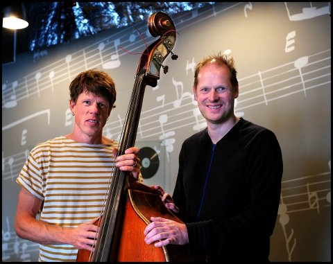 Lærerkonsert: Kulturskolelærerne Putte Johander (til venstre) og Halvor Kjerkreit spiller i Olavskapellet lørdag 15. september.