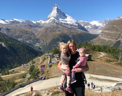 VENDER HEIM: Per-Egil Flo (32) byter Matterhorn og Sveits med Sogndal, og reiser heim til døtrene Filippa (3) og Saga (2). – Eg og familien sakna heime, og kom fram til at dette var den beste løysinga for oss, seier han.