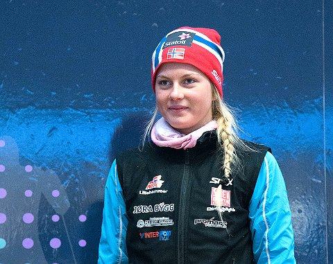 Lisa Kvamme har ambisjonar om å bli landslagsløpar i langrenn.(Foto: Norges Skiforbund)