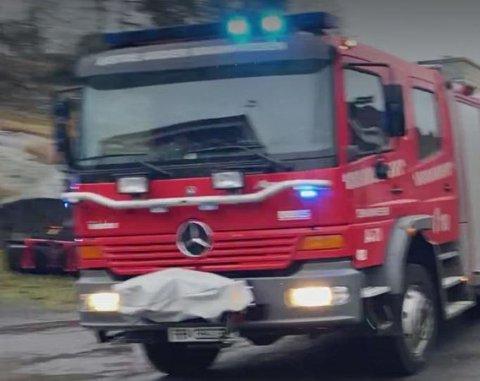 Østre Agder brannvesen rykket ut - men kunne returnere uten å ha gjort slokkingsarbeide.