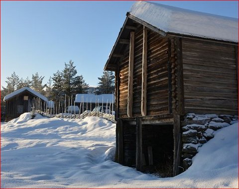 Mot Fagernes: Troppen der Thor P. Skansen er med, trekker seg tilbake over fjellet mot Fagernes.