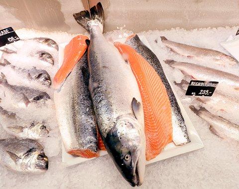 Laksen alene står for 63,3 prosent av den norske sjømateksporten hittil i år. FOTO: VIDAR RUUD, NTB SCANPIX
