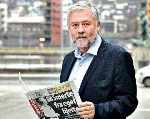 - Veldig røde resultater både for 2015 og 2016, sier Bjørn Larsen i Byavisene Vestfold AS.