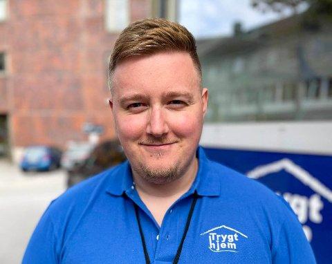 Kim Jørgensen er Trygt Hjems nye mann i Salten.