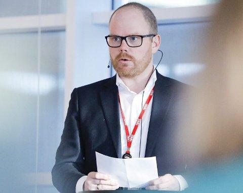 Askøyværingen Gard Steiro, tidligere medarbeider i BA og redaktør i BT, står midt i VG-skandalen som sjefredaktør.  foto: fredrik hagen, ntb scanpix