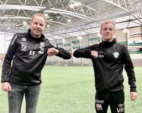 Erik Fuglestad (t.v.) og Preben Stangeland.