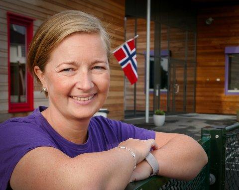 FRAM I KØEN: Styrer i Myrå barnehage, Merethe Andersen Ranvert, er glad for at lærere og barnehagelærere skyves fram i vaksinekøen, men skulle ønske det skjedde tidligere.
