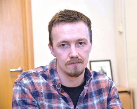 Tommy Grønlund, leder for flyktningtjenesten i Modum.