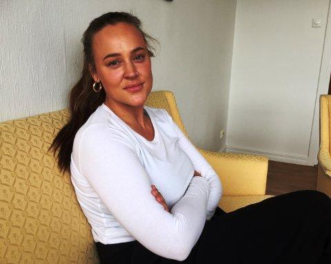 Benedicte Haugaard ble overfalt på vei hjem fra byen. Etter hendelsen fortalte hun om det på bloggen sin.