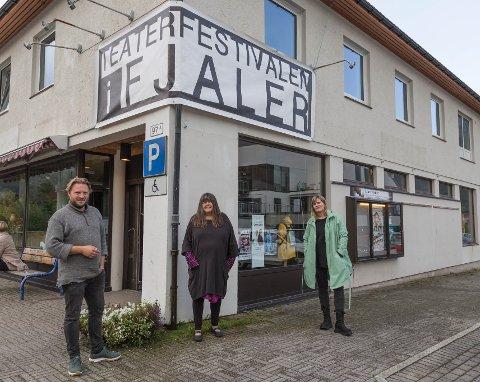 SMITTEVERN: Teaterfestivalen i Fjaler vert arrangert med stort fokus på smittevern.