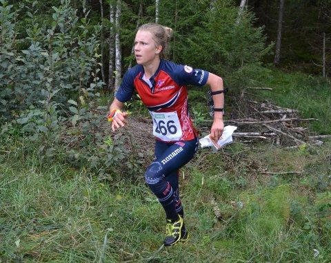 Kamilla Olaussen har rettet blikket mot tre medaljer i helgens NM.